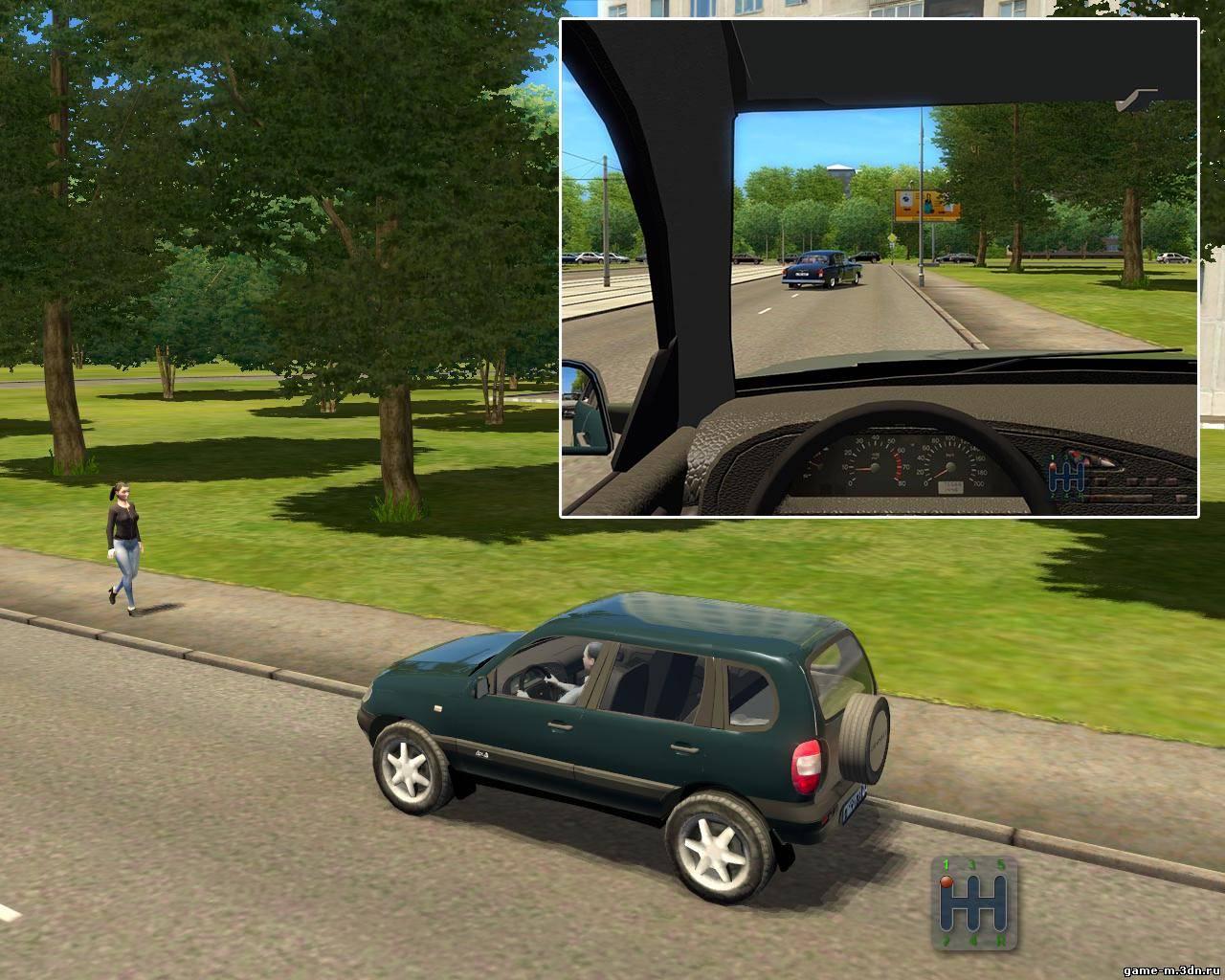 Chevrolet niva для 3d инструктор версии 2 2 7 в