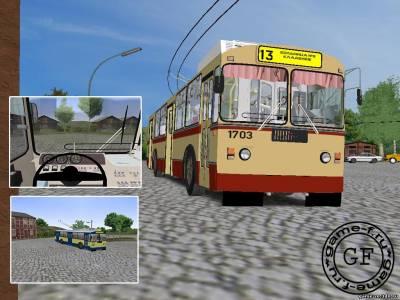 Троллейбус зиу 682 для omsi